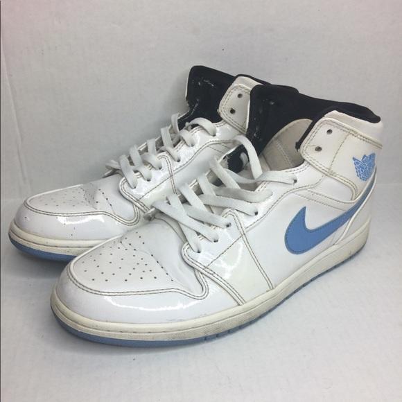 Jordan Other - Nike AIR JORDAN 1 Retro 11.5 554724-127 Carolina 8103bfeff